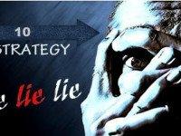 10 основных стратегий поведения лжеца.